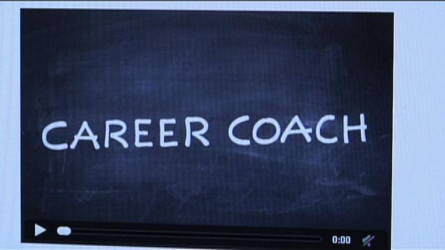 photo Career Coach on blackboard
