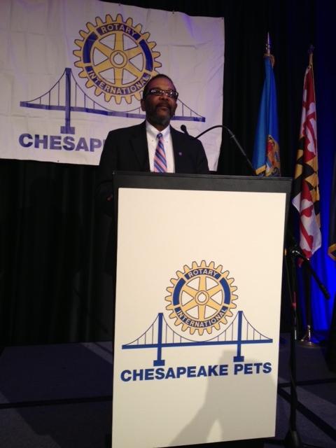 photo Greg Wims at Chesapeake PETS
