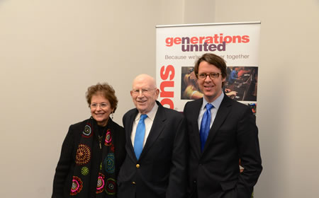 photo Hans Riemer at Best Intergenerational award ceremony