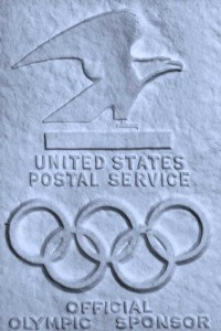 Bird-on-a-Wire, Official seal of US Postal Service - as used with Olympic Sponsorship