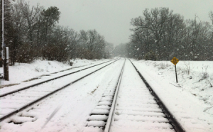 snow on railroad tracks for slider 450x280