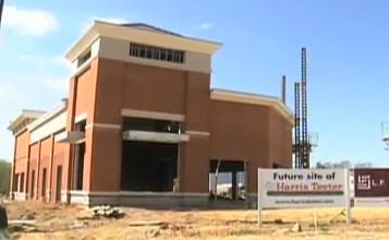 photo construction on Clarksburg Harris Teeter