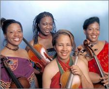 photo Marian Anderson String Quartet