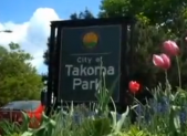 photo of Takoma Park sign