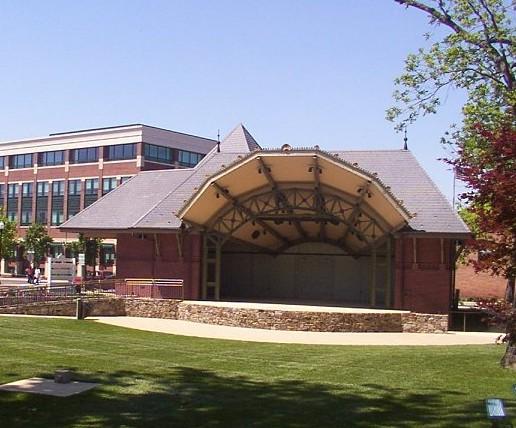 photo Gaithersburg City Hall Concert Pavilion