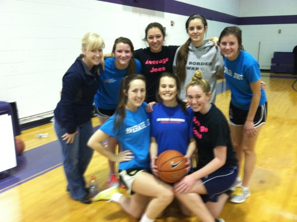 My mom even coached my basketball team once! How great is she?