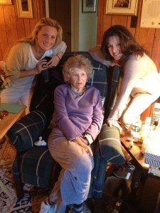 My mom and my grandmother and I!