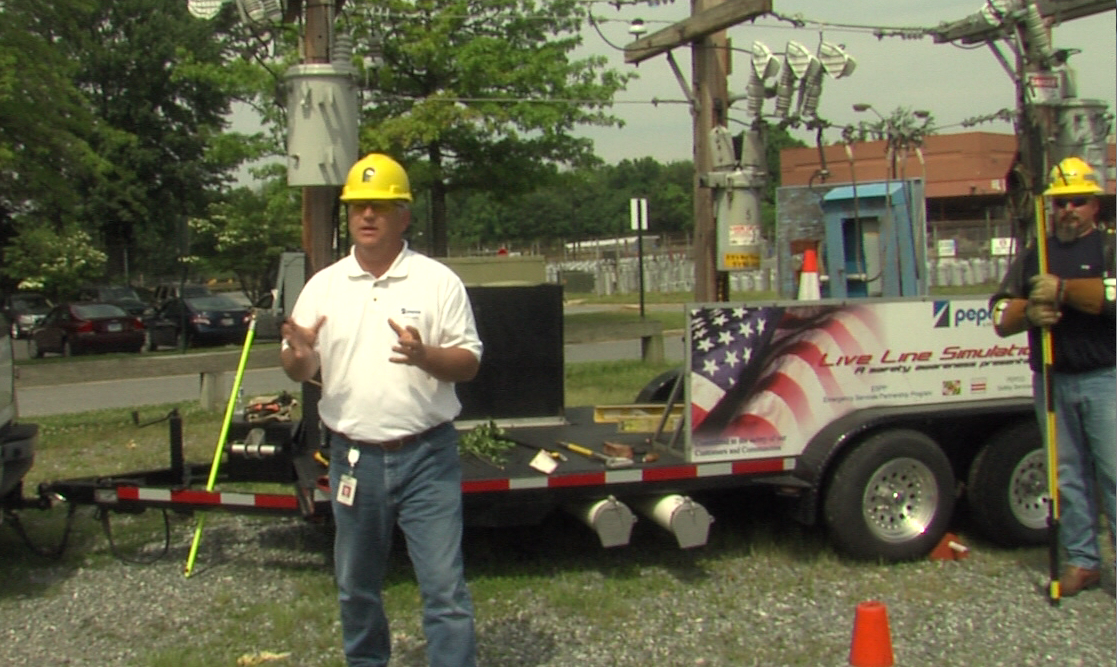Pete Pedersen is a Distribution Operations Analyst with Pepco. He works with the field operations to get customers restored.