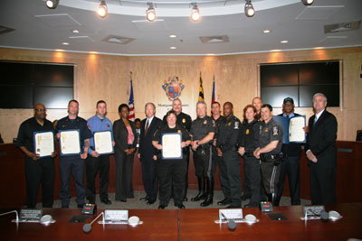 photo Council and Public Service Workers honored