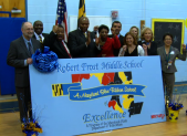 Robert Frost Maryland Blue Ribbon School Award
