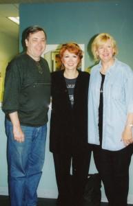 photo Diane Hamilton with Donna MacKechnie