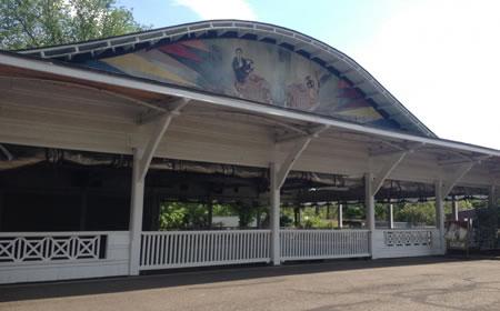 photo Glen Echo Bumper car Pavilion