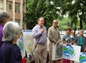Marc Elrich Speaks to Environmentalists about Ten Mile Creek