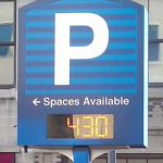 Montgomery County Parking Spaces Available Sign