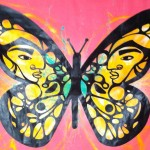 """Artist Ako Catuera's """"migration is beautiful"""" at the Silver Spring Pop-up Museum."""