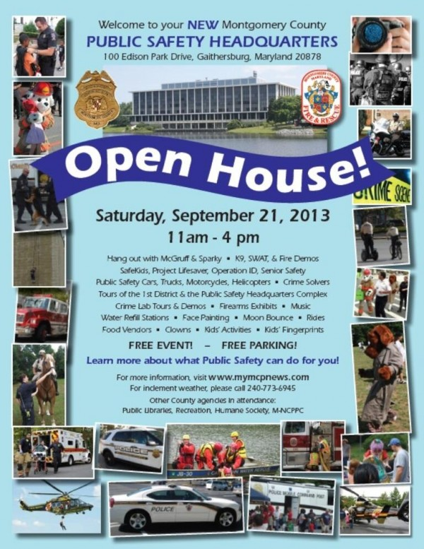 Public Safety Open House 9 21 13