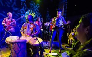 Chopteeth Afrofunk Big Band Photo by John Shore