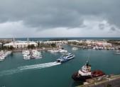 Storms a brewing in Bermuda.