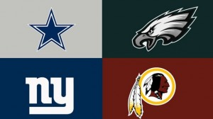 NFC east logos