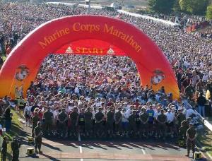 2012 Marine Corps Marathon Photo courtesy Flickr user  mtngirl9999