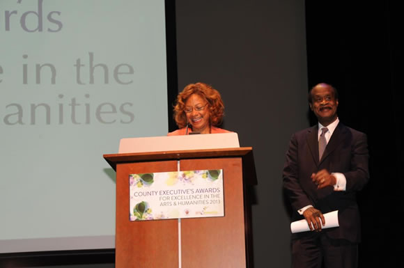 County Executive Ike and First Lady Catherine Leggett at the 12th Annual County Executive's Awards for Excellence in the Arts and Humanities Photo   Clark W. Day