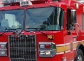Firetruck close up