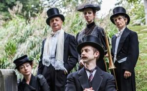 Cast of Happenstance Theater's Cabaret Macabre Photo   Leslie McConnaughey
