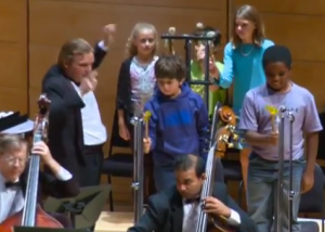 strathmore student concerts with students