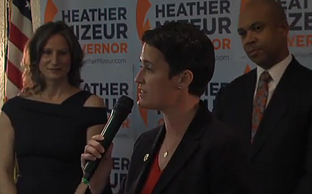 Heather Mizeur (D) candidate for governor.