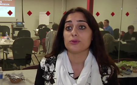 Azadeh Aalai, Montgomery College Psychology Assistance Professor