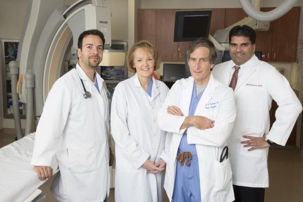 Shady Grove Adventist Hospital Chest Pain Center physician team.