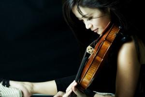 photo of violinist Chee Yun