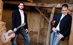 Guitarist Adam Levin and Violinist William Knuth Photo   TeresaTam Studio