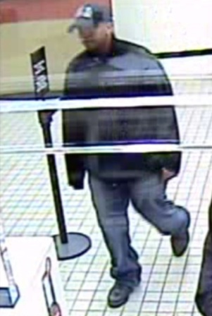 Bank of America robbery suspect  Photo   Montgomery County Police