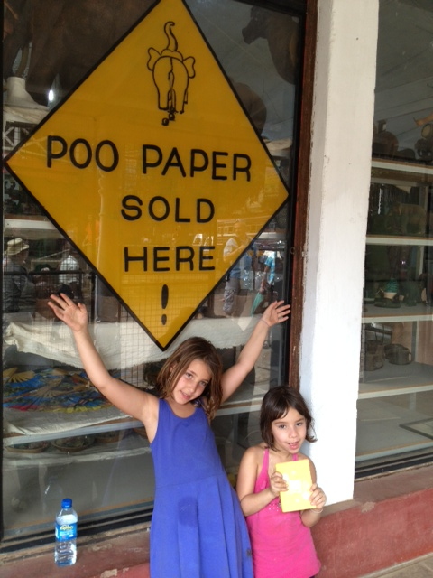 Poo paper sold here