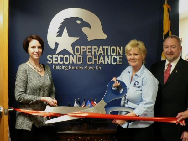 photo Operation Second Chance ribbon cutting