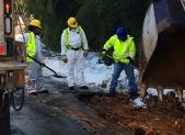 Rolston Road pothole repair