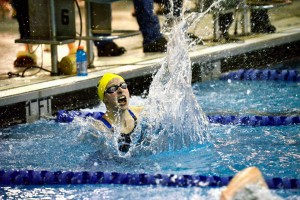 Katie Ledecky Smashes Record in Germantown