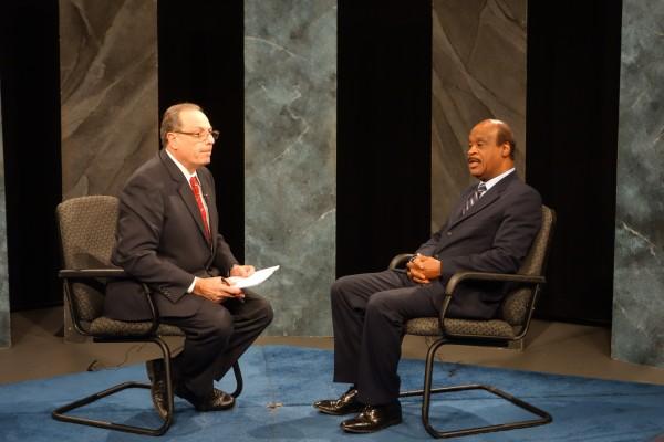 Casey Aiken, host '21 This Week' and County Executive Isiah Leggett