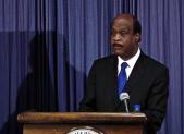 photo of Ike Leggett presenting budget