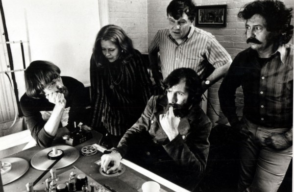 Jim at the editing table in 1972