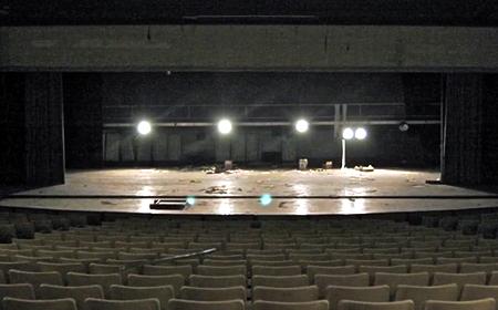 photo of Old Blair HS Auditorium