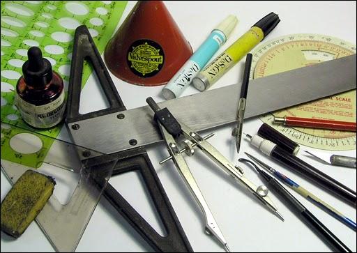 photo of writing tools