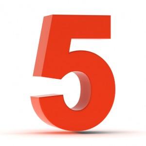 fivethingsyouneedtoknow