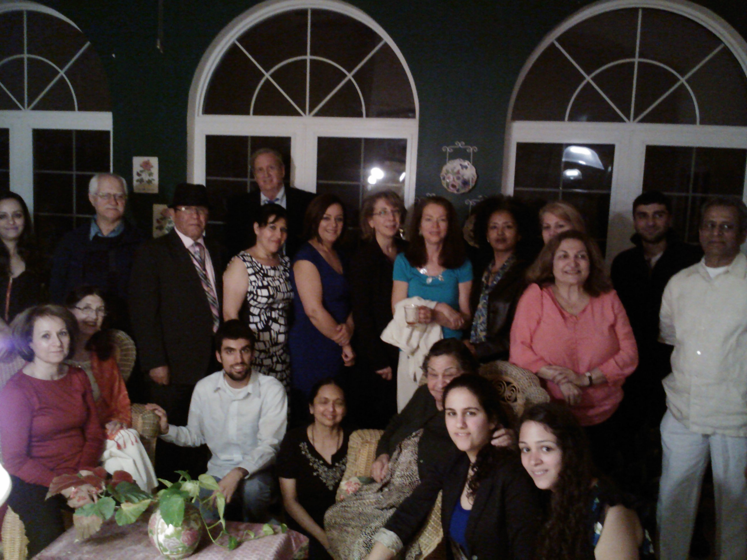 Members of the Baha'i faith community gather in Gaithersburg for Ridvan. Photo by Manousheed Bagha.