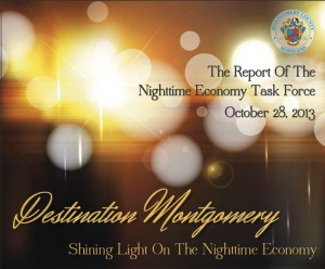 graphic from Nighttime Economy Task Force report