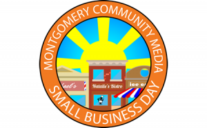logo for small business day