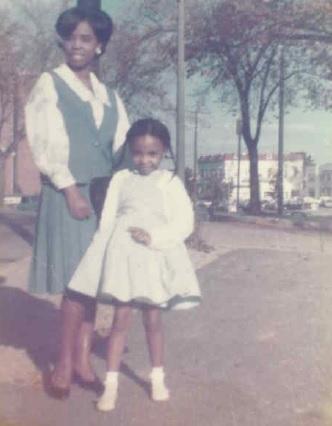 Councilmember Cherri Branson poses with her mother.