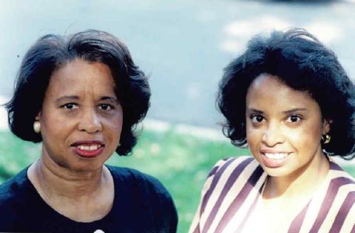 Councilmember Cherri Branson and her mother.
