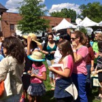 photo of Gaithersburg Book Festival Lines